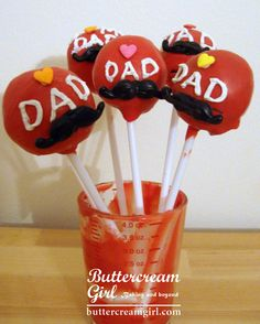Father's day cake pops! #fathersday #cakepop