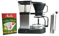 Cheap Redline 8 Cup Coffee Brewer with Glass Carafe, Hot Plate and Pre-Infusion Mode (Bundle) K Cup Coffee Maker, Coffee Maker Reviews, Espresso Coffee Machine, French Press Coffee Maker, Coffee Brewer, Antique Coffee Grinder, Coffee Holder, Kitchen Reviews, Pour Over Coffee