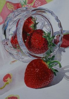 Karin Isenburg. Strawberries & Crystal
