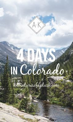 4 Days in Colorado Trip Guide and Itinerary | Things to do in Colorado #Colorado #TravelGuide #Itinerary #Denver #Boulder #ColoradoSprings