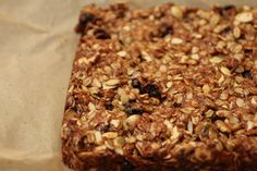 fat granola bars with mango hazelnut ginger low fat granola bars with ...