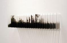 Tranches de paysages transparents paysage relief plaque transparente 04 divers bonus art