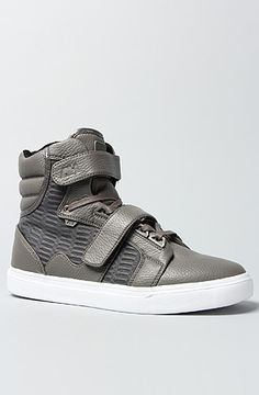 Shop At #Karmaloop Use Repcode Blee301 The Propulsion Hi Sneaker in Grey by AH by Android Homme