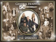 Spencer Family General Hospital 50th Anniversary Collage