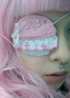 cupcake eye patch