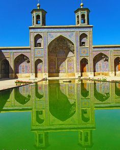 Behdad Shiraz Iran, Middle East, Taj Mahal, Pdf, River, Mansions, House Styles, City, Building