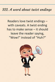 A word about twist endings. Writing Guide, Writing Goals, Book Writing Tips, Writing Process, Writing Help, Writing Skills, Creative Writing Tips, Grammar Book, Writers Notebook