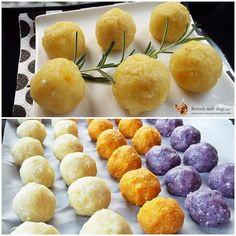 bulete de cartofi cu cascaval la cuptor3 Party Platters, Hamburger, Good Food, Bread, Brot, Baking, Burgers, Breads, Healthy Food