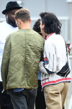 Dua Lipa, appeared to confirm her fledgling romance with Anwar Hadid, as the pair attended the Barclaycard British Summer Time Hyde Park in London on Saturday.