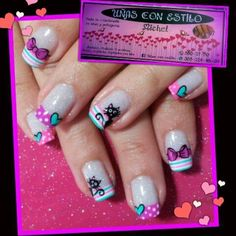 En honor a una nena que trabaja super Christmas Nail Designs, Christmas Nails, Holiday Nails, Cat Nail Art, Cat Eye Nails, French Nails, Hello Nails, Nails For Kids, Nail Growth