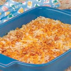 Cheesy Hash Brown Casserole- Taste of Home
