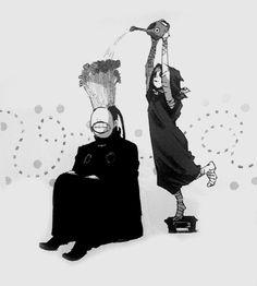 Eto & Noro - Tokyo Ghoul Calendar 2016 | edit by rawmen.co.vu