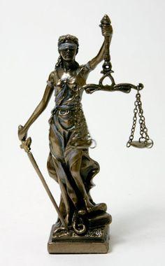 Justitia Power Of Positivity, Statue, Tattoos, Vintage, Art, Lady Justice, Art Background, Tatuajes, Tattoo