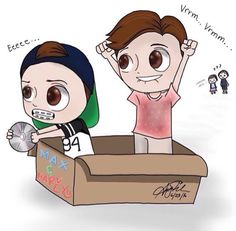 My favorite max and harvey drawing ❤️❤️