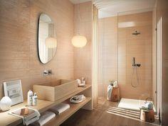 Wandspiegel Badezimmer Ideen Beispiele Für Fliesen In Beige