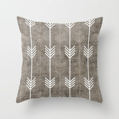 dirty arrows Throw Pillow by Holli Zollinger. Worldwide shipping available at Society6.com. Just one of millions of high quality…