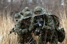 South Korean Special Forces - South Korea is not allowed to move their troops without America's approval. Military Guns, Military Art, Military Aircraft, Military Vehicles, Gi Joe, Indian Army Special Forces, The Rok, Chief Of Naval Operations, Army Gears