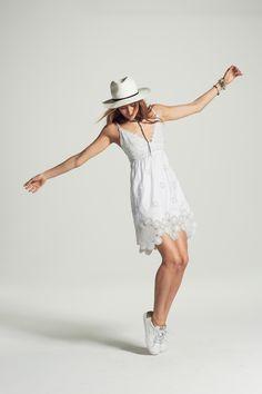 8f5f12e991 Calypso St. Barth Summer 2016 Collection. Naniva Cutout Lace Linen Dress  Pure White