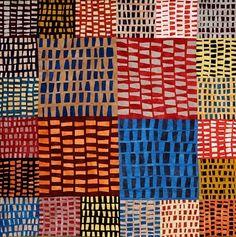 Fabulous pattern design for stitchery using both raised, satin and flat, tent stitches