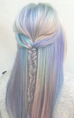Image result for holographic opal hair
