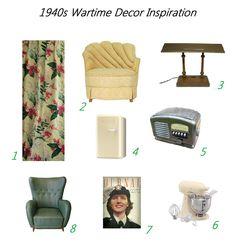 wartime decor