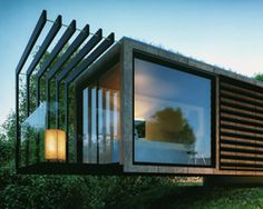 patrick bradley designs cantilevered shipping container office
