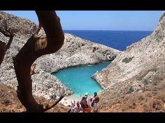 Σειτάν Λιμάνια - Seitan Limania, Crete in 4K (Ultra HD )
