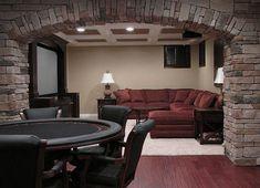 mancave designs | Fabulous Man Cave Decorations Ideas Rustic Man Cave Design Ideas with ...