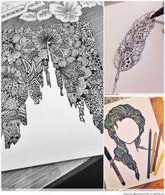 Zentangle Patterns & Ideas