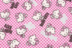Hello Kitty Character Fabric made in Japan FQ by SewingdoingShop Hello Kitty Characters, Hello Kitty Backgrounds, Oxford Fabric, Japanese Fabric, My Etsy Shop, June, Snoopy, Sanrio, Handmade Gifts