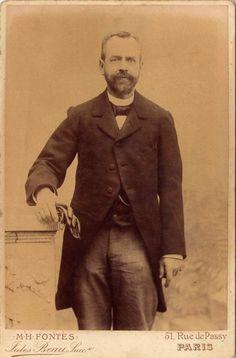 Antoine Froment en 1897 - DR