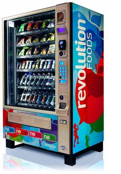 Revolution Foods- making vending machines a healthy snack option in schools across America.
