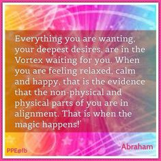 Calm and Happy! That's the evidence of your alignment. Spiritual Wisdom, Spiritual Awakening, Abraham Hicks Quotes, Law Of Attraction Quotes, Inspirational Quotes For Women, Positive Affirmations, Positive Thoughts, Namaste, Spirituality