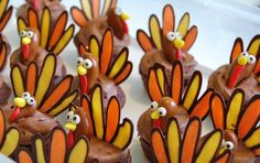 Turkey-Shaped Thanksgiving Treats