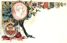 Deutsches Reich (Kaiserreich) | deutsche-schutzgebiete.de Wordpress, Blog, Flag, Crests, Saints, Postcards