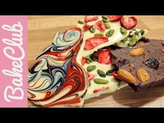 Bruchschokolade - Unsere Top 3 Varianten!   BakeClub - YouTube