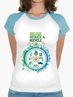 Reusa, reduce, recicla, protege nuestro mundo y disfruta de la naturaleza
