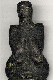 Venus of Dolni Vestonice (26,000 BCE). Oldest ceramic work of prehistoric art ever discovered.