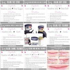 7 Beauty Tips and DIY Healing Recipes using Vaseline Jelly Beauty Tips For Teens, Beauty Tips For Face, Beauty Hacks, Beauty Secrets, Oily Skin Care, Skin Care Tips, Vaseline Jelly, Beauty Routine 30s, Vaseline Beauty Tips
