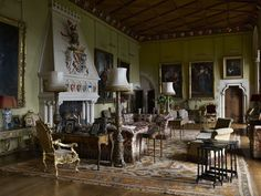 Exceptionnel From ENGLISH COUNTRY HOUSE INTERIORS Book By Jeremy Musson  A Gorgeous  Volume!