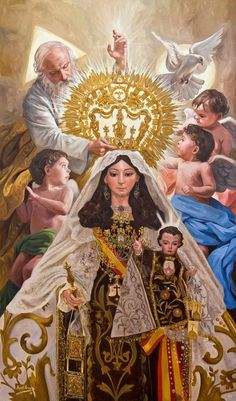 Our Lady of Mount Carmel - Raul Berzosa More art by Raul