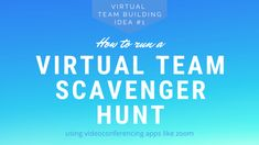 We've been putting our heads together to come up with some virtual team building ideas for you. First up: The Virtual Scavenger Hunt! Office Team Building Games, Teacher Team Building, Fun Team Building Activities, Building Games For Kids, Team Building Exercises, Library Activities, Building Ideas, Indoor Activities, Summer Activities