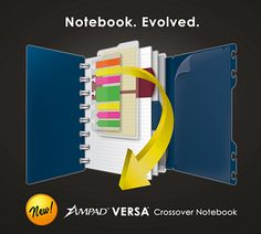 The Ampad Versa Crossover Notebook Rewiew & GIVEAWAY!  Ends 12/31/12