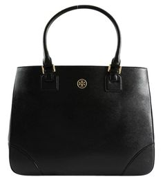 Tory Burch Nwt *get $25 Off Use Code Gift25* Robinson Ew East-west Includes Gift Receipt Black Tote Bag. Get one of the hottest styles of the season! The Tory Burch Nwt *get $25 Off Use Code Gift25* Robinson Ew East-west Includes Gift Receipt Black Tote Bag is a top 10 member favorite on Tradesy. Save on yours before they're sold out!