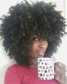 Beautiful hair! #NaturalHair #TeamNatural #curls #afro #fro #teamcurly #curlyhair #bighair #teamfro #teamafro #naturalgirls #kinkyhair #coilyhair #teamcoils #natural #naturalhaironfleek #blackgirlmagic #blackgirlsrock #healthyhair #shrinkage #shrinkageisreal #teamhealthyhair #lengthcheck #haircrush #newgrowth #hairgrowth #naturalhairjourney #hairjourney