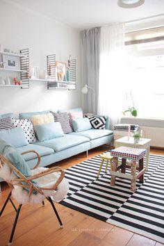 inspo sofá azul