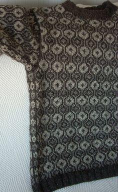 Asplund knits: Faroese sweater finished