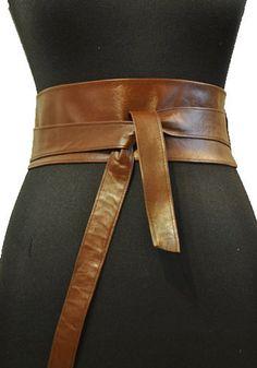 Wide Leather Belt, Lambskin Leather, Brown Leather, Leather Belts, Country Belt Buckles, Country Belts, Cinto Obi, Obi Belt, Corset Belt