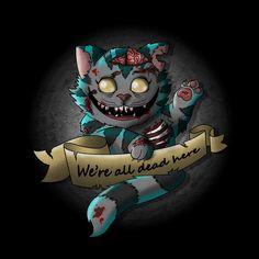 """Résultat de recherche d'images pour """"chat du cheshire zombie"""""""