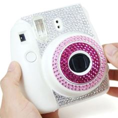 Fujifilm Instax Mini 8 Camera Rhinestone Sticker by MaterialDream